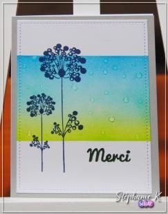 Carte - Remerciement a4