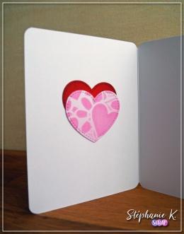 Carte - Amour 1 - Intérieur