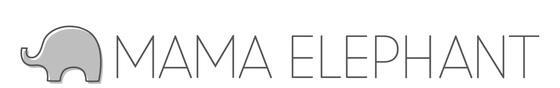 Mama Elephant - Logo janvier 2019
