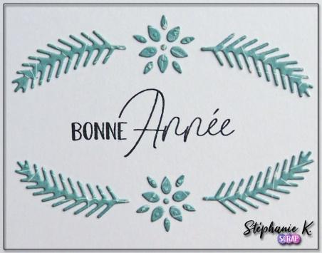 Carte - Nouvel An 2019 3 - Détail