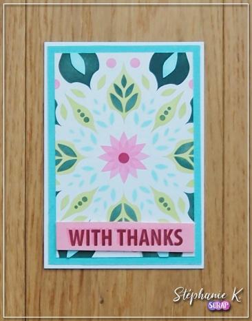 Carte - Remerciement 1 - Vue 2