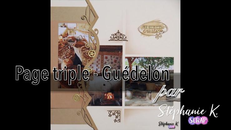 Miniature vidéo Page triple Guédelon 1