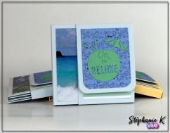 Mini-albums - Thème Azza Au bord de mer - Vue 1