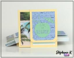 Mini-albums - Thème Azza Au bord de mer - Vue 2