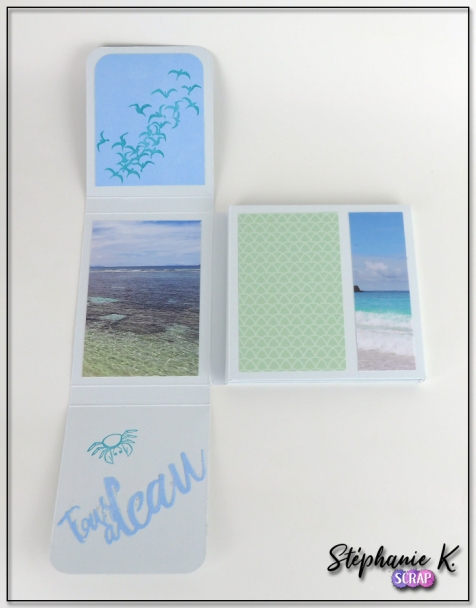 Mini-albums - Thème Azza Au bord de mer - Vue 3