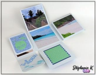 Mini-albums - Thème Azza Au bord de mer - Vue 5