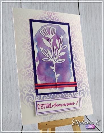 Carte - Anniversaire 8