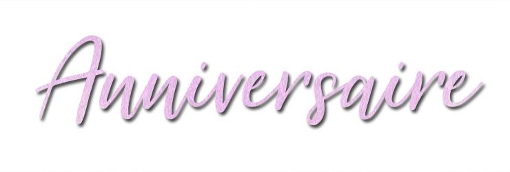 Titre anniversaire blog