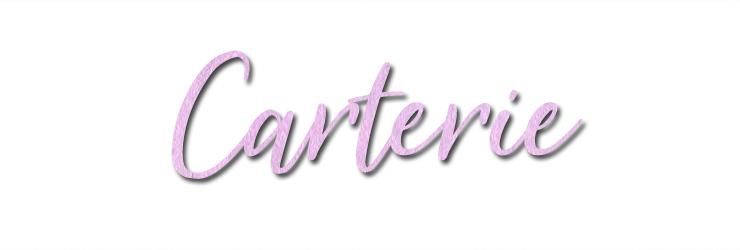 Titre carterie blog