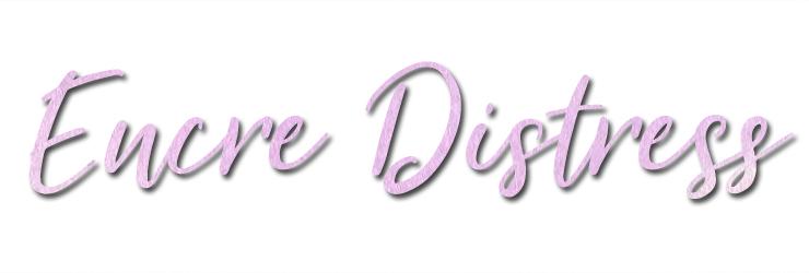 Titre encre distress blog