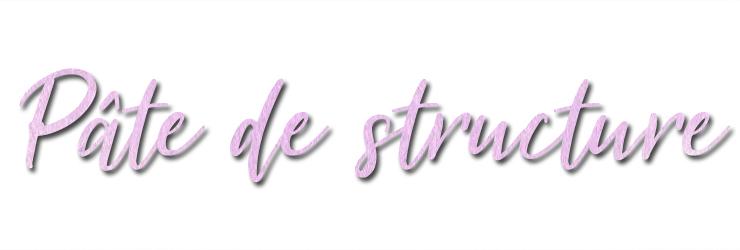 Titre pâte structure blog