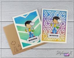 Carte - Invitation 1 - Paire 1