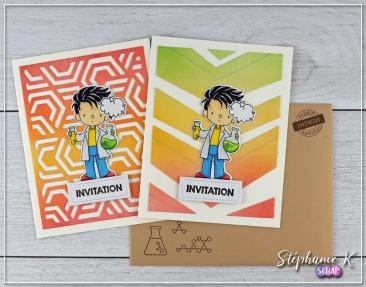 Carte - Invitation 1 - Paire 2