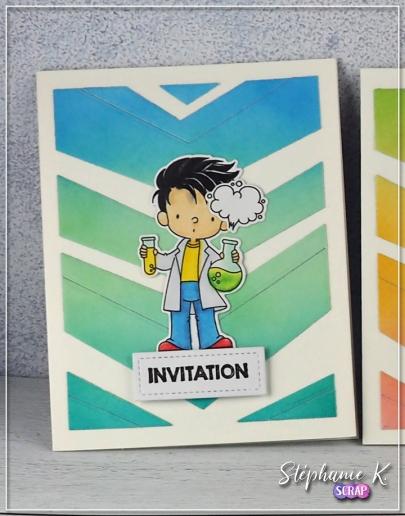 Carte - Invitation 1 - Détail 1