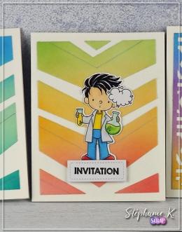 Carte - Invitation 1 - Détail 2