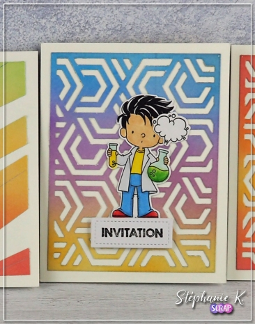 Carte - Invitation 1 - Détail 3