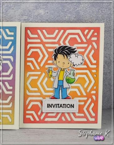 Carte - Invitation 1 - Détail 4