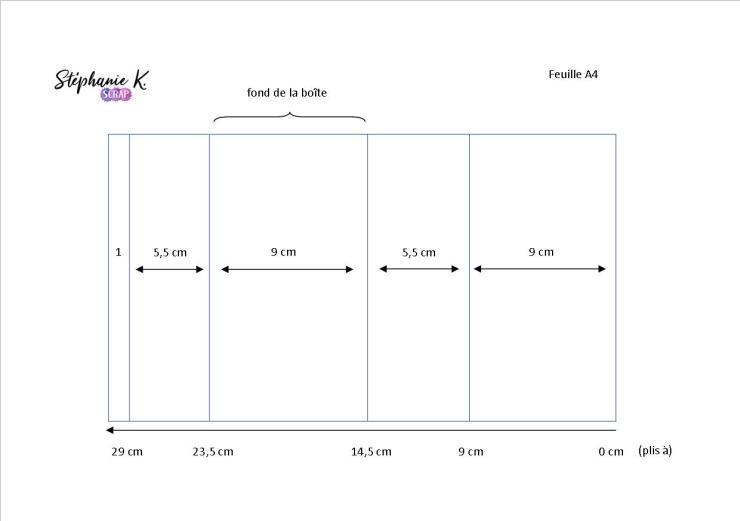 Modèle boîte pop-up rectangulaire 1