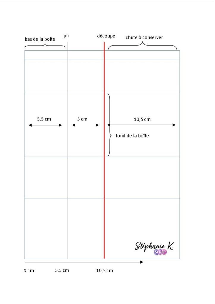 Modèle boîte pop-up rectangulaire 2