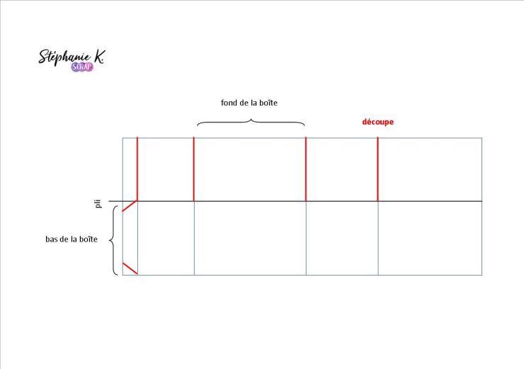 Modèle boîte pop-up rectangulaire 3
